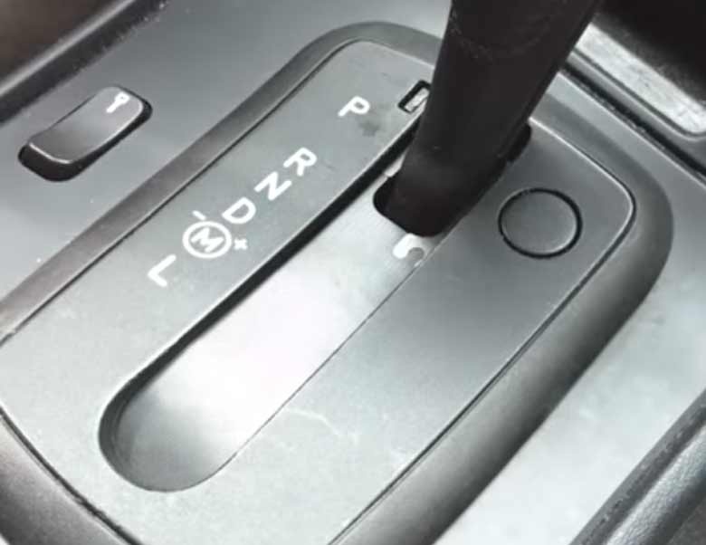 Saab 9-5 Auto Trans Shifter Cover Jalousie