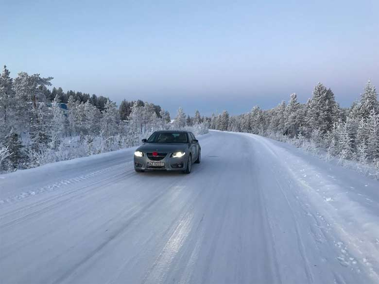Saab Voyage Expedition to Nordkapp: How we prepared the car for roads covered with ice