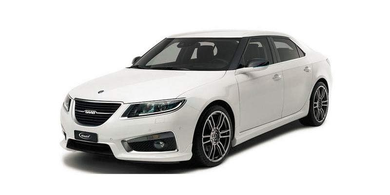Saab 9-5 NG Aero with Hirsch Performance Bodykit