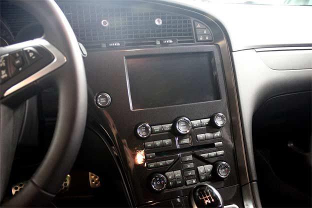 Saab 9-5 NG Sportcombi interior