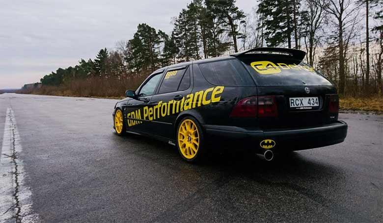 Tuned Saab 9-5 Sportcombi
