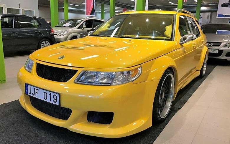 Saab 9-5 Widebody