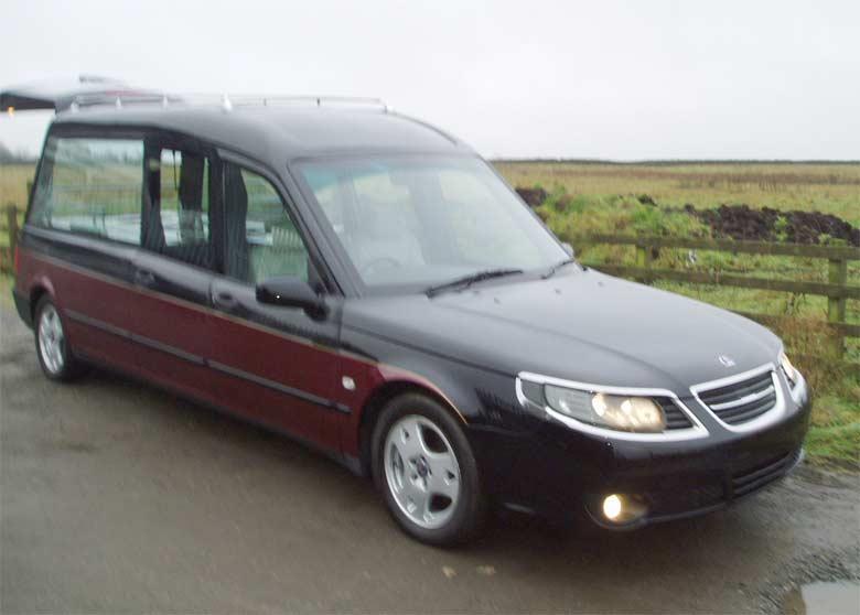 Special Saab 9-5 hearse