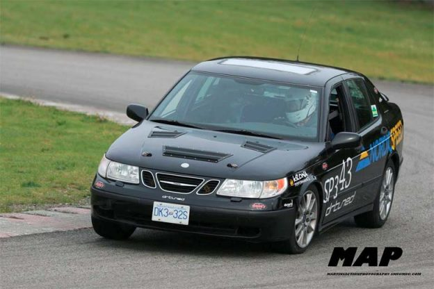 Saab 9-5 Time Attack Race Car built by DRtuned Racing ...