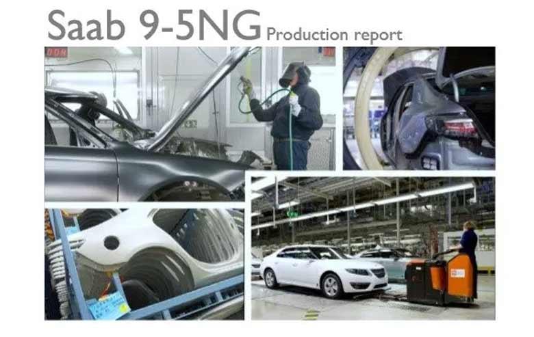Saab 9-5NG Production Report
