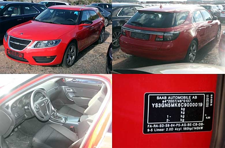 Saab 9-5ng sportcombi for sale