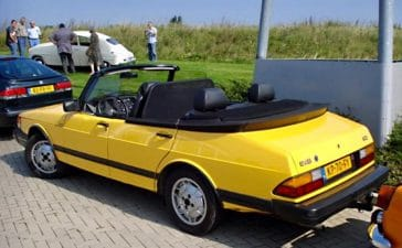 Saab 900 4-door convertible