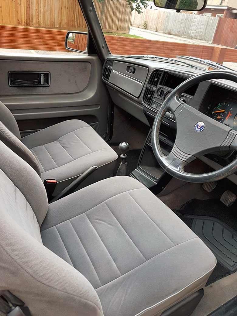 Saab 900 Aero Interior