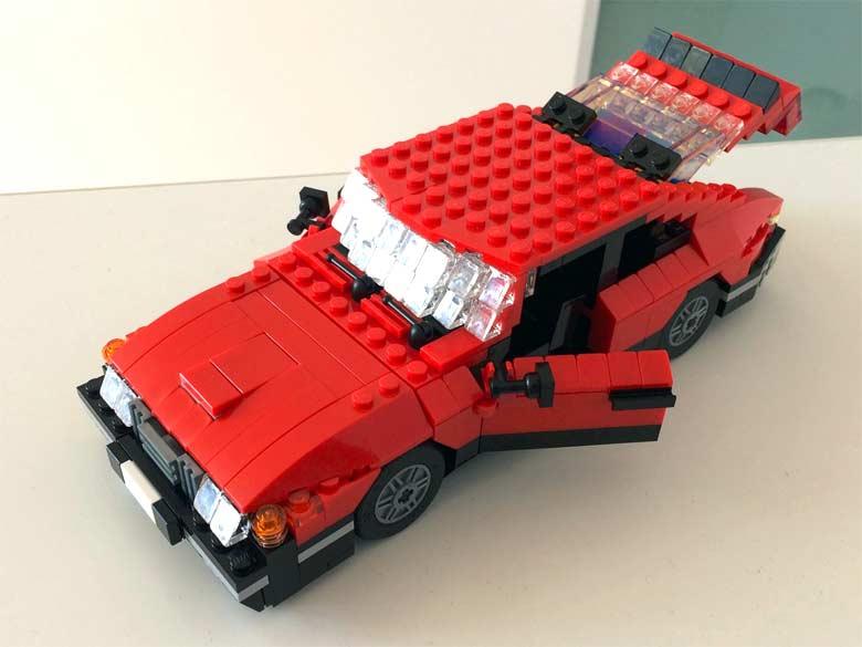 Saab 900 LEGO