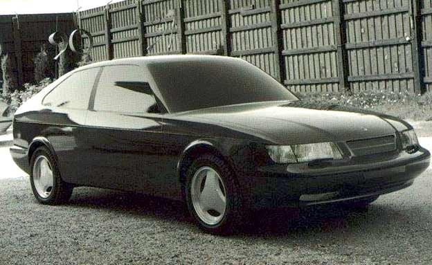 Saab 900 NG prototype, Full-size clay model