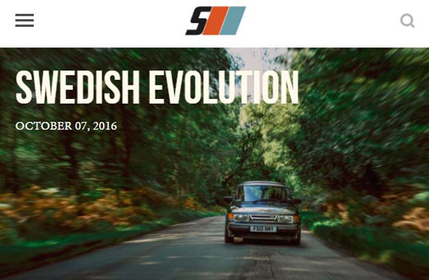 Saab 900 Swedish Evolution