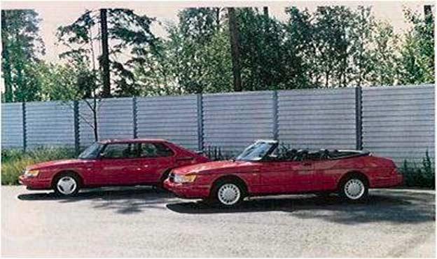 Saab 900 Talladega from Valmet company