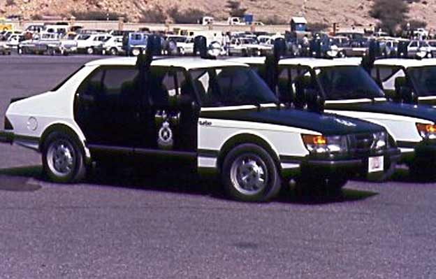 Saab 900 Turbo - Royal Oman Police