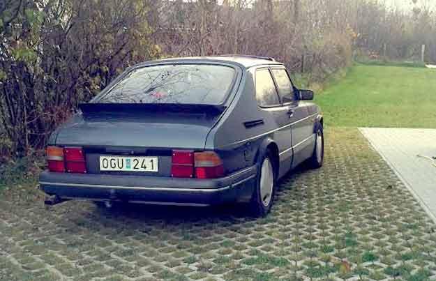 Saab 900 Turbo T8 Special