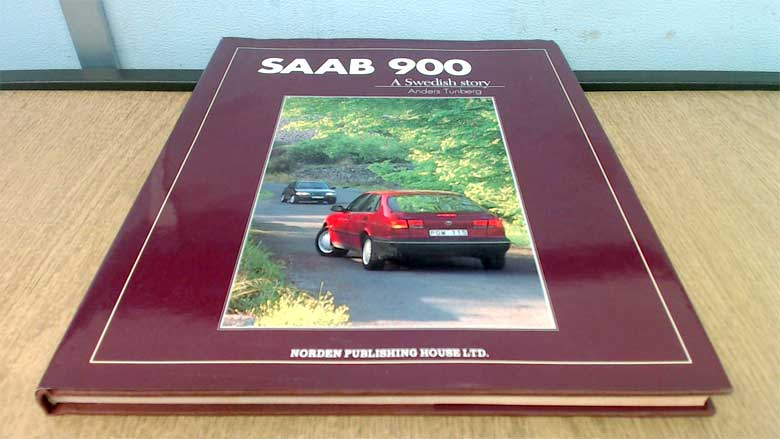 "Book ""SAAB 900: A Swedish Story"""