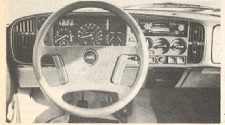 Saab 900 dashboard