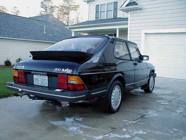 Whether you believe it or not - Saab 900 Turbo for Free!