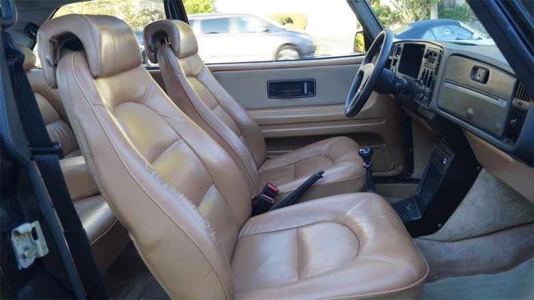 Saab 900 SPG seats
