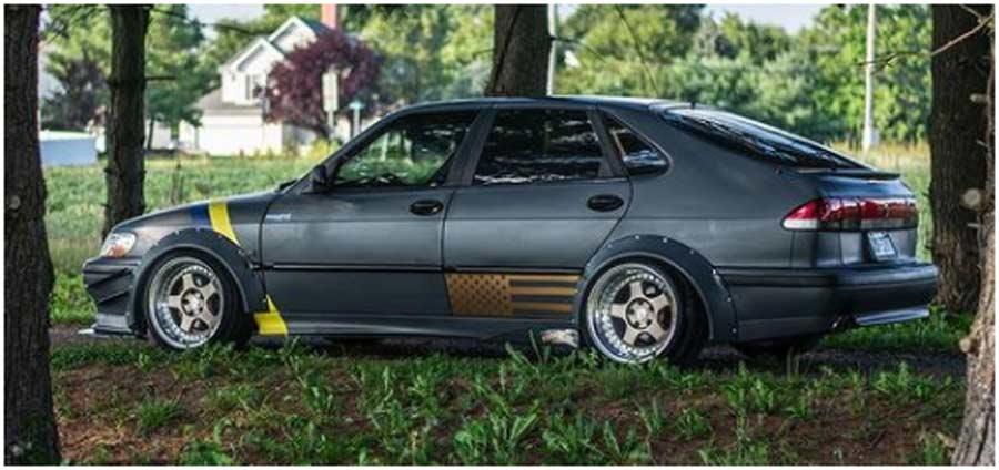Tuned Saab 900 SE
