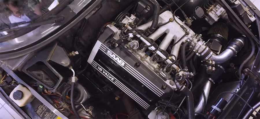 Saab 900 Turbo Restoration