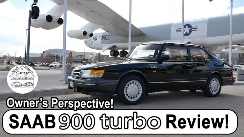 Saab 900 Turbo video review