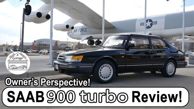 Saab 900 Turbo video review