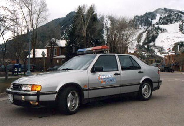 Saab 9000 - Aspen Police