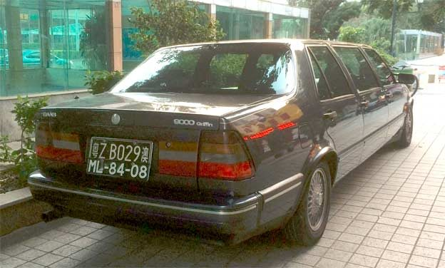 Saab 9000 Griffin Limo