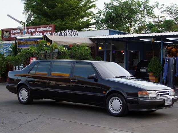Saab 9000 Limo from Bangkok