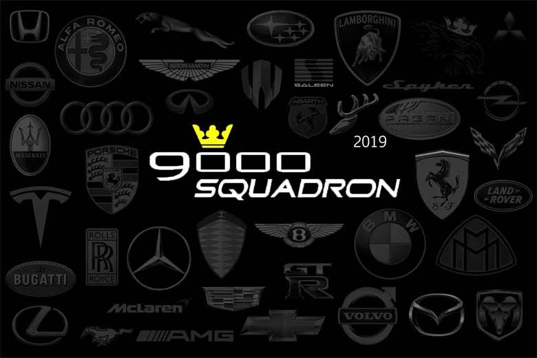 Saab 9000 Squadorn calendar