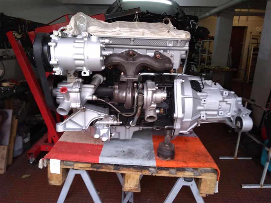 Saab 9000 engine gearbox