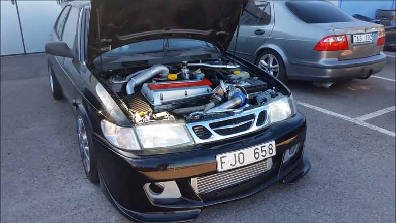 Saab 900GTR 2.3T