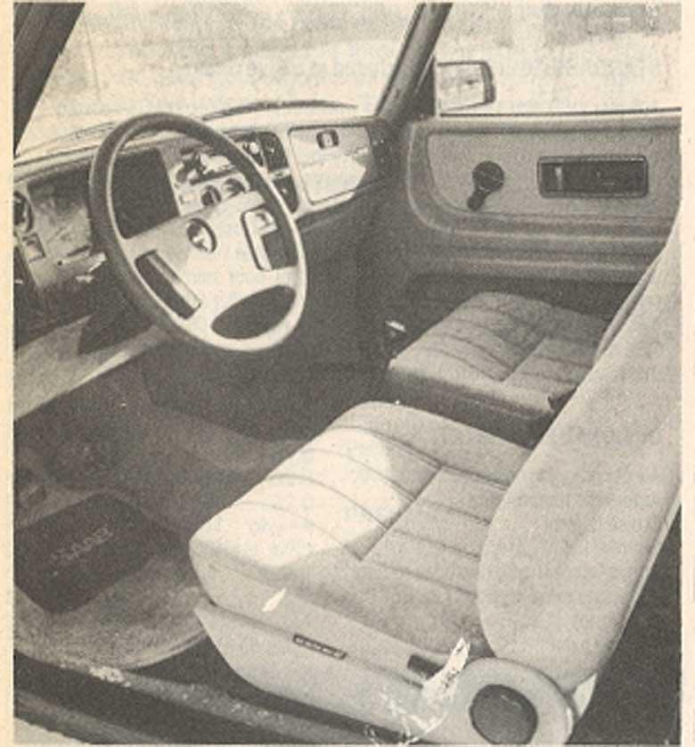 1984 Saab 900S