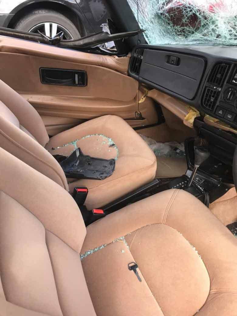 Saab 900i interior