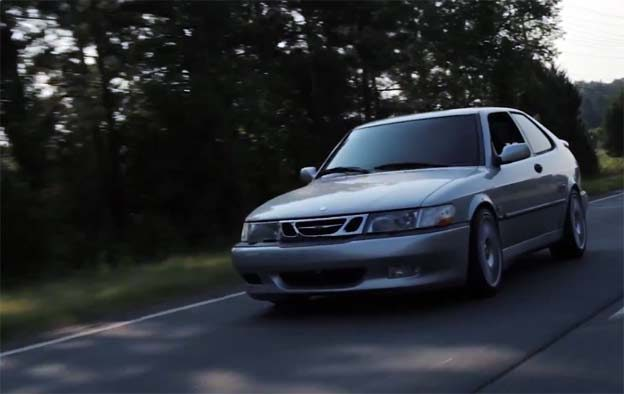 Saab 900NG / Screenshot from stunning video by Aperture Charlotte