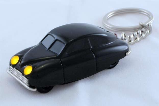 "Saab 92001 ""Ursaaben"" key ring"