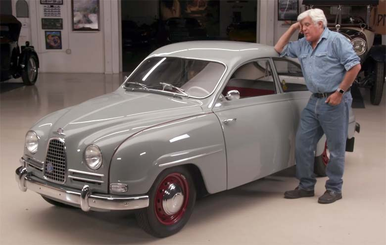 1958 saab 93b from jay leno s garage saab planet for Garage saab lyon