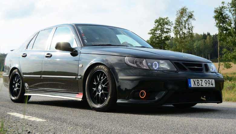 Saab 9-5 custom