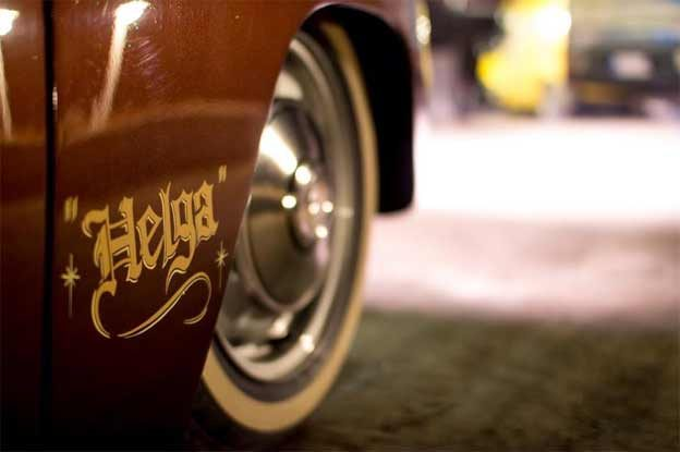 Saab 96 called Helga