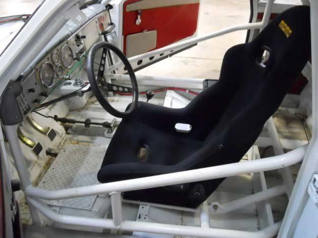 Saab 96 Cockpit