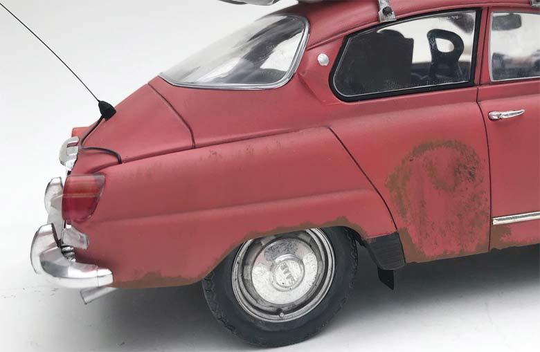 Saab 96 in details