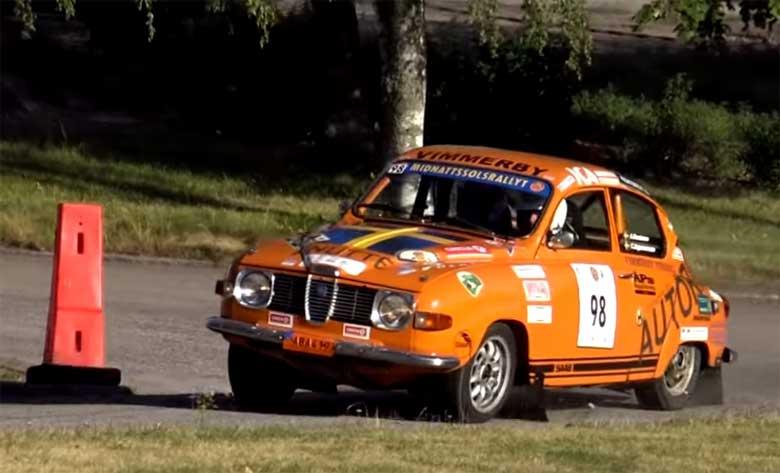 Saab 96 V4 rally