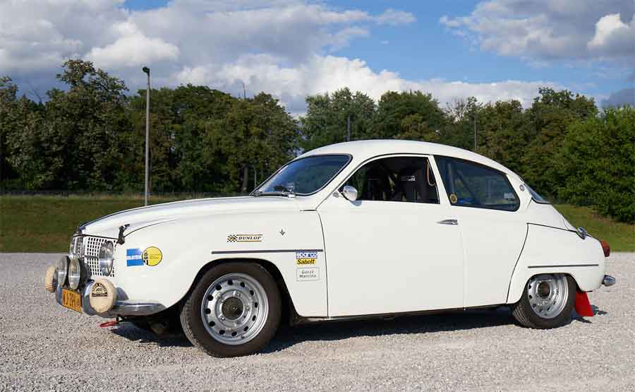 Saab 96 Rally - Ready for new rallies