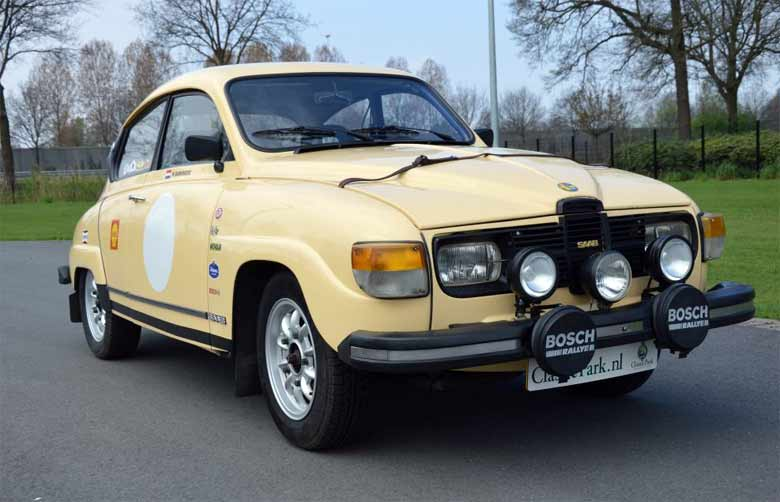 Beautiful Saab 96 GL - Ready For The Rally
