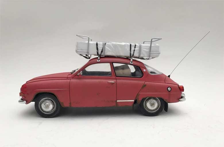 Saab 96 scale model