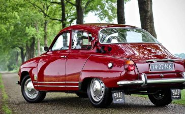 This beautiful Saab 96 V4 was fully restored almost 10 years ago