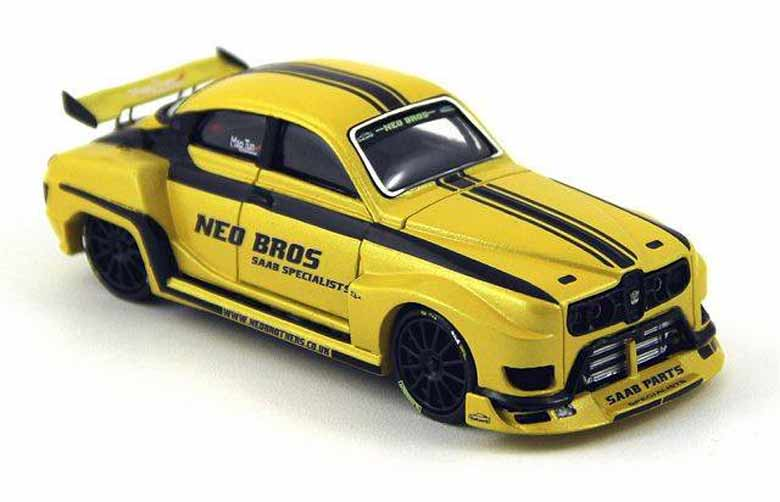 Neo Brothers Saab 96SS Limited Edition Model Car