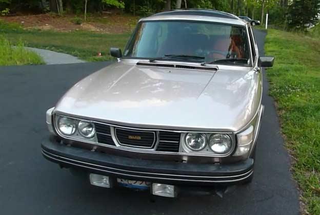Saab 99 EMS Turbo