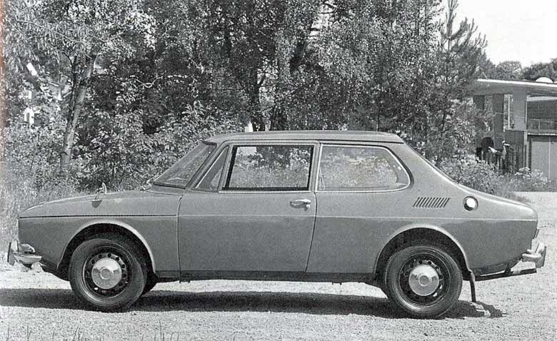 Saab 99 Prototype