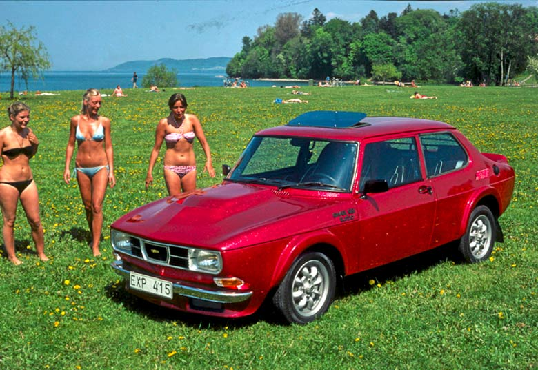 Saab 99 Red baron by Bilsport